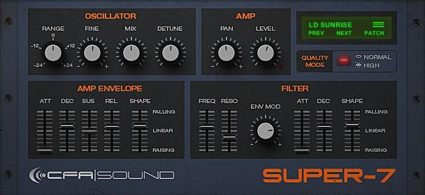 CFA-Sound SUPER-7