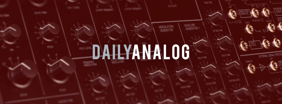 DailyAnalog | Providing the best information on new and discontinued