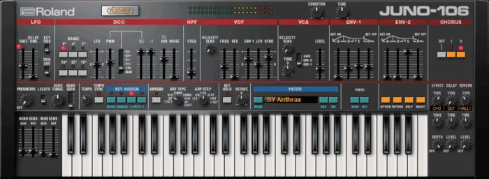 Roland Cloud Juno-106