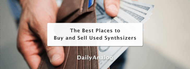 Best Places To Buy and Sell Used Synthesizers