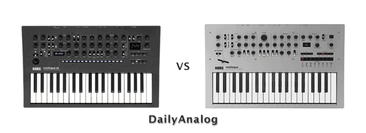 Korg Minilogue vs Minilogue XD