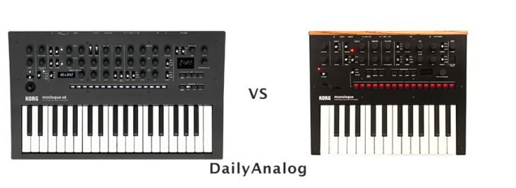 Monologue vs Minilogue XD