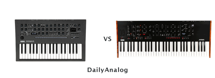Prologue vs Minilogue XD